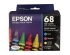 EPSON NO 68 INK CARRIDGE CMYK (T068120-BCS)
