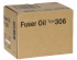 RICOH TYPE 306 FUSER OIL (400497)