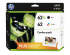 HP 62XL/62 INK CTG BLACK/CMY COMBO PACK (F6U01FN)