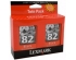 LEXMARK X5150 NO. 82 INK CARTRIDGE BLACK TWIN PACK (TPANZ05)