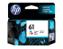 HP 61 INK CARTRIDGE TRI-COLOR (CH562WC#140)