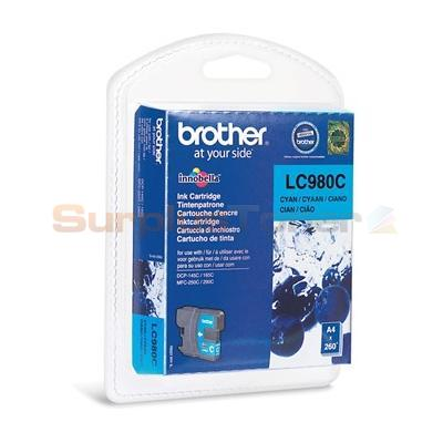 brother dcp 145c ink cartridge cyan lc980cbp. Black Bedroom Furniture Sets. Home Design Ideas