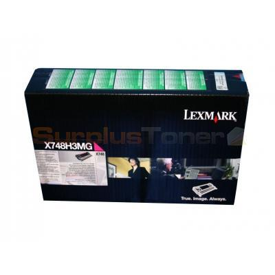 X748H1MG - original Lexmark X 748 DE 10.000 Pages Toner magenta