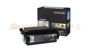 LEXMARK OPTRA T610 RP PRINT CARTRIDGE BLACK (12A5840)