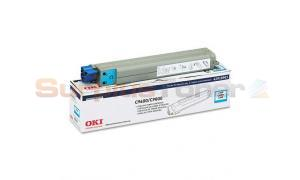 OKIDATA C9600/9800 TONER CARTRIDGE CYAN (42918903)