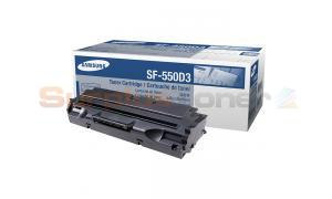 SAMSUNG 555 TONER CARTRIDGE BLACK (SF-550D3)