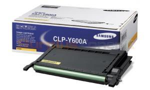 SAMSUNG CLP-600 TONER CARTRIDGE YELLOW (CLP-Y600A)