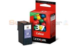 LEXMARK NO 37 PRINT CARTRIDGE TRI-COLOR RP (18C2140)