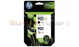 HP NO 901 INK CARTRIDGES BLACK/COLOR (SD519AE)