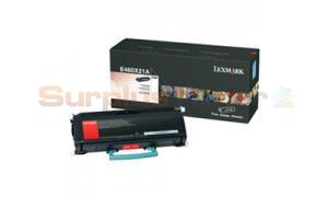 LEXMARK E460DN TONER CARTRIDGE BLACK 15K (E460X21A)