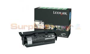 LEXMARK T650N RP PRINT CARTRIDGE BLACK 7K (T650A11A)
