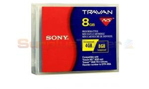 SONY TR4 FORMAT TRAVAN DATA CTG 4GB (QTR-NS8A4)