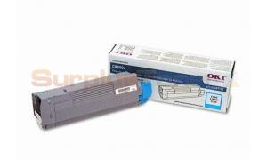 OKIDATA C8800N TONER CARTRIDGE CYAN (43487735)