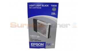 EPSON STYLUS PRO 7800 INK CARTRIDGE LIGHT LIGHT BLACK 220ML (T563900)