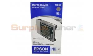 EPSON ULTRACHROME PRO 7400 9800 INK CART MATTE BLACK (T566800)
