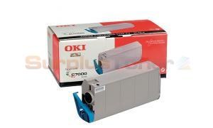 OKIDATA C7000 TYPE C2 TONER CARTRIDGE BLACK (41304212)