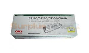 OKIDATA C5100/C5300 TYPE C6 TONER YELLOW (42127488)