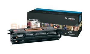 LEXMARK X830E TONER CARTRIDGE BLACK (X8302KH)