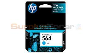 HP PHOTOSMART C6380 NO 564 INK CART CYAN (CB318WN)