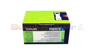 LEXMARK CS410 CORPORATE TONER CTG CYAN 4K (70C2XCE)