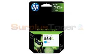 HP PHOTOSMART NO 564 XL INK CART CYAN (CB323WN)