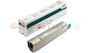 OKIDATA C8600 TONER CARTRIDGE MAGENTA (43487722)