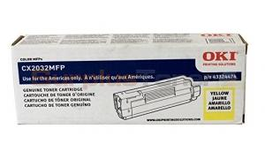 OKI CX2032 MFP TONER CARTRIDGE YELLOW (43324474)