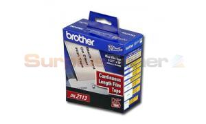 BROTHER P-TOUCH CLEAR CONT. FILM ROLL 2-3/7IN (DK2113)