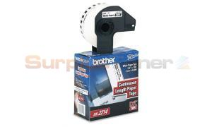 BROTHER P-TOUCH DURABLE CONT. PAPER TAPE 1/2IN (DK2214)