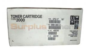 RICOH AFICIO AP2000 TONER CARTRIDGE BLACK (400395)