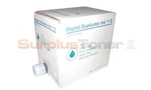 RICOH DIGITAL DUPLICATOR INK TYPE II TEAL (613552)