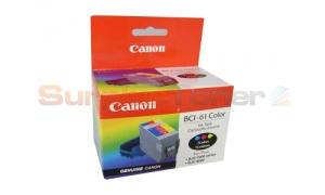 CANON BCI-61 INK TANK COLOR (0968A003)
