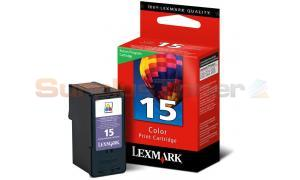 LEXMARK 15 INK CARTRIDGE COLOR RP (18C2110)