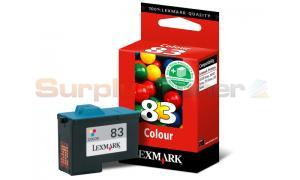 LEXMARK X5150 NO 83 PRINT CARTRIDGE TRI-COLOR (18LX042E)