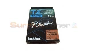 BROTHER TZ NON-LAMINATED TAPE BLACK ON GOLD 18MM X 4M (TZ-N841)