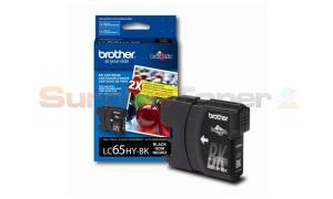 BROTHER MFC-5890CN INK CARTRIDGE BLACK HY (LC-65HYBK)