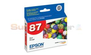EPSON R1900 NO 87 INK RED (T087720)