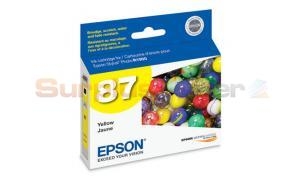 EPSON R1900 NO 87 INK YELLOW (T087420)