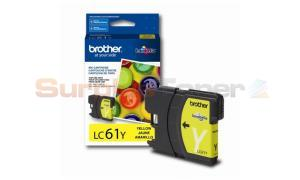 BROTHER DCP165C INK CARTRIDGE YELLOW (LC61Y)