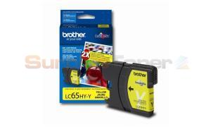BROTHER MFC-5890CN INK CARTRIDGE YELLOW HY (LC-65HYY)