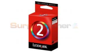 LEXMARK X2480 NO. 2 PRINT CART COLOR (018CX190E)