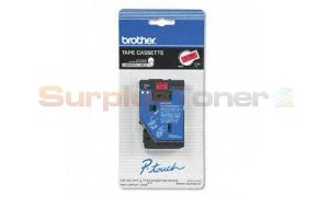 BROTHER P-TOUCH TAPE BLACK/RED (1/2 X 25) (TC-5001)