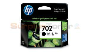 HP NO 702 INK BLACK 280 PAGES (CC660AA)