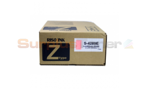 RISO RZ-200 INK FLUORESCENT ORANGE (S-4289E)