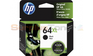HP NO 64XL INK CTG BLACK (N9J92AN)