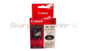 CANON BC-02 INK CARTRIDGE BLACK (0881A377)