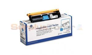 QMS MAGICOLOR 2400W 2430DL TONER CARTRIDGE CYAN (1710587-003)
