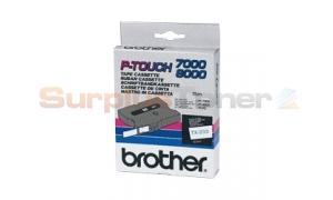 BROTHER TX TAPE BLUE ON WHITE 12 MM X 15 M (TX-233)