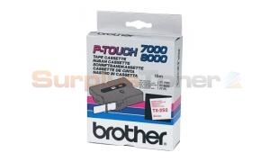 BROTHER TX TAPE RED ON WHITE 24 MM X 15 M (TX-252)