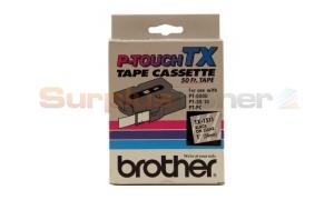 BROTHER P-TOUCH TAPE BLACK/CLEAR (24 MM X 15 M) (TX-1511)